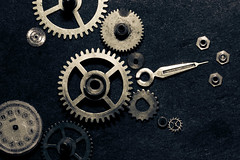 A question of time (V for Valium) Tags: clock gear reloj clocks relojes engranaje engrane