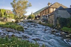The River (Fr Antunes) Tags: france river village explore pirineus arreau hautespyrenees