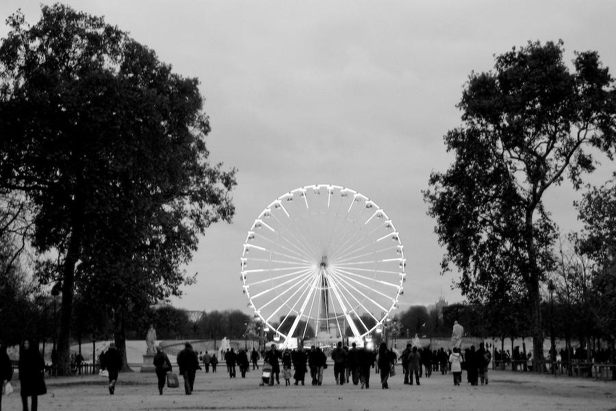 Paris - Roda Gigante - Campos Elísios