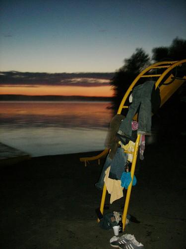 5h45 sur la plage