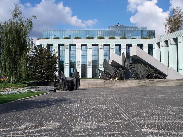 Warsaw - War Monument
