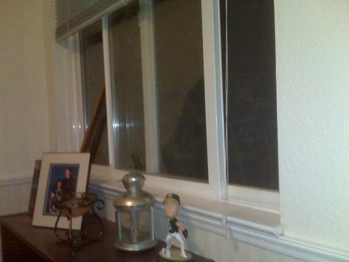 The computer room window