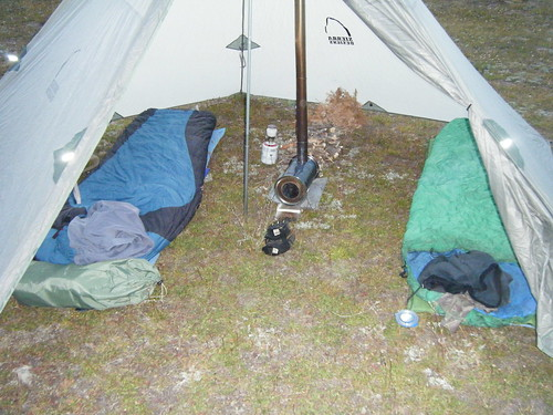 Not a great interior pic but it will give you an idea. & Sierra Designs Origami 4 Tipi Tent - 24hourcampfire