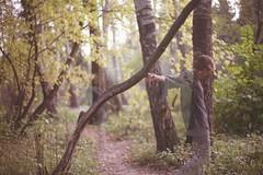 автопортрет 181й день (tomato_senya) Tags: autumn trees selfportrait colour green me nature bodylanguage 365ru