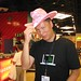John Chow with Pink Hat