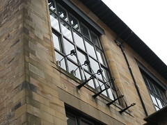 Window Wrought Iron Rose Detail (angiegochis@ymail.com) Tags: charles rennie mackintosh
