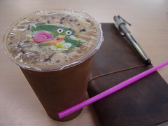 Kopi O and TN (Shanti, shanti) Tags: travelersnotebook malaysianicedcoffee
