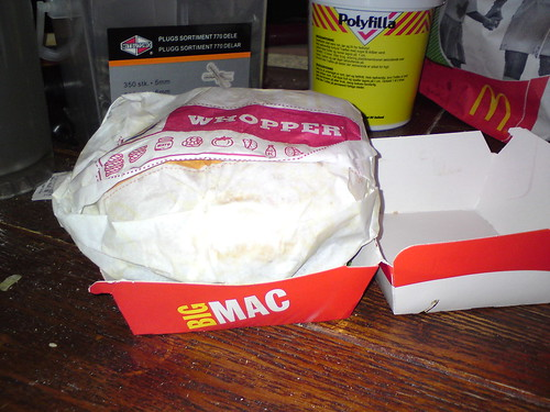 Silly Whopper; that's a Big Mac box #2