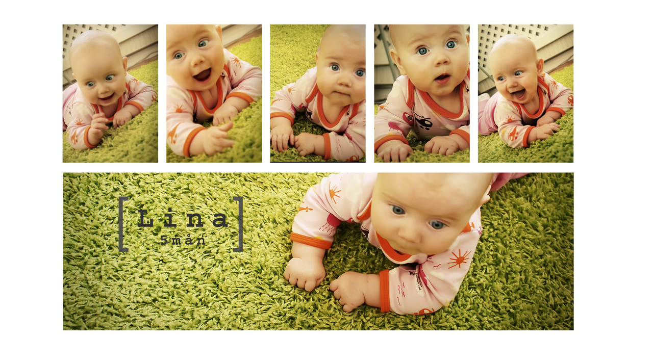 Baby Lina 5 month