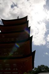 五重塔, 宮島, 広島