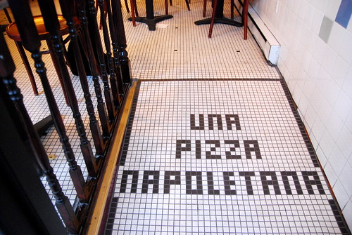 Una Pizza Napoletana Tile Floor (by Adam &quot;Slice&quot;<br /> Kuban)
