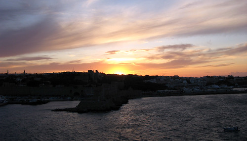 Sunset in Rhodos