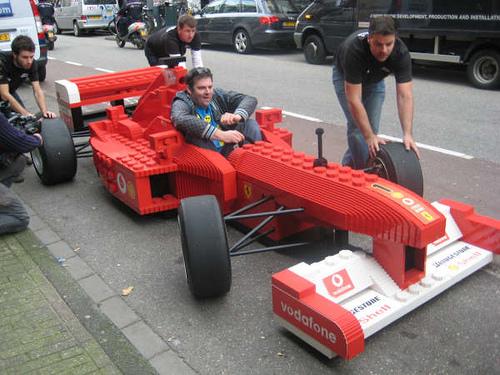 Ferrari de LEGO