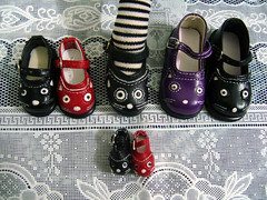 Cats Shoes For Her, and Her and Her... (except me, haha;p) (Dolly Paws) Tags: cats shoes doll dolls mary yo dal size sd kawaii pullip blythe bb janes msd bjds 1mill dollypaws zerodotlingling