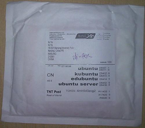 ubuntu envelope