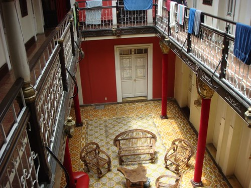 Loki Hostal, La Paz. A beautiful old construction...