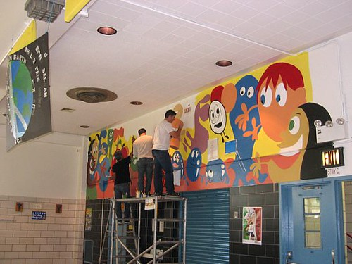 Cafeteria Mural 1- Good Food