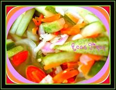 Acar (UmmAbdrahmaan @AllahuYasser!) Tags: salad malaysia sour colurful terengganu 991 acar kualaterengganu sweetandsour colorphotoaward colourartaward ummabdrahmaan acartimun