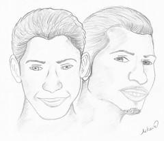 Brotherhood (arkawe) Tags: art pencil drawing sketching skitch pencildrawings    arkawe