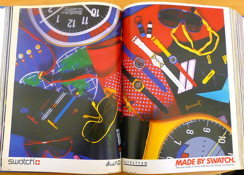 Made By Swatch August 1984 by LauraMoncur from Flickr