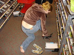 Shoe shopping really is a tough exercise for S...