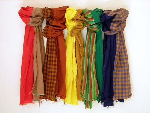 Shot Cotton Scarves