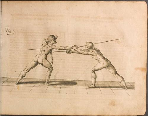 Fecht-kunst - Nicoletto Giganti, 1622