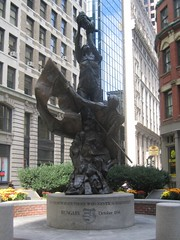 1956 emlékmű Bostonban
