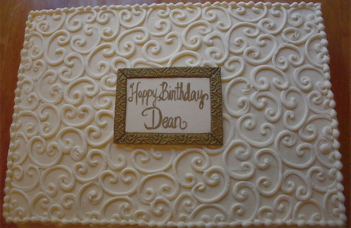 Dean's Birthday Cake