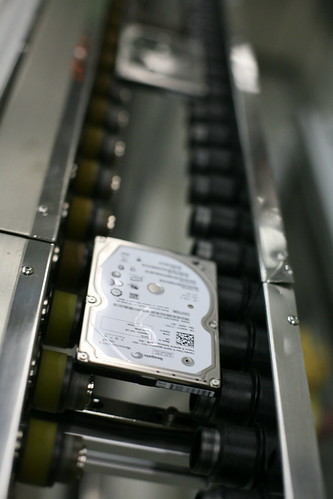 One hard drive every few seconds by Robert Scoble.