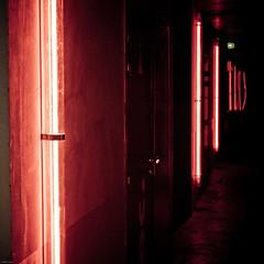 Infinite RED (z@doune) Tags: paris art eos opening iledefrance idf 104 le104