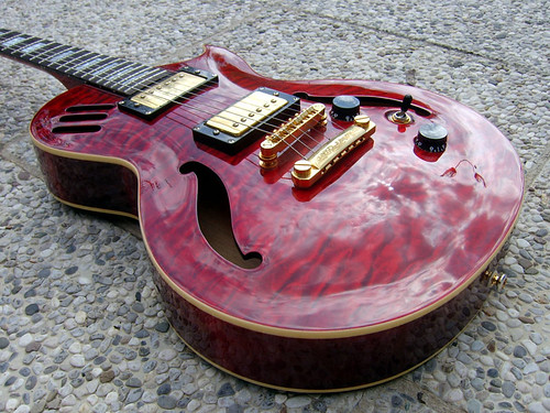 Career CG4 semi-hollowbody