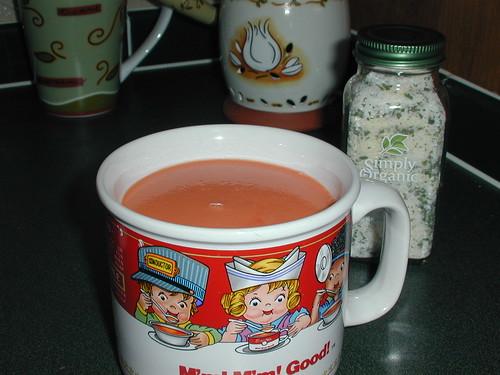 Plain Creamy Tomato Soup