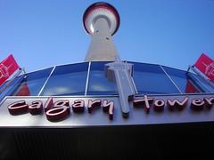 Calgary Tower (JJD-Photography) Tags: above sea canada calgary tower downtown awsome alberta level tallest 加拿大 鶴 calgarycanada cityofcranes beautifulcalgary 卡爾加裡