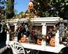 Haunted Mansion Holiday (disneyphilip) Tags: christmas disneyland pumpkins hearse hauntedmansion neworleanssquare jackolanterns hauntedmansionholiday disneyphotochallenge queuearea