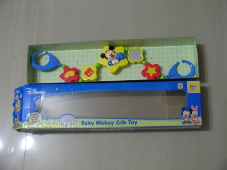 Lightly Used Baby Mickey Crib Toy @ $4