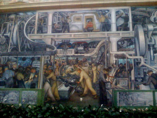 Diego Rivera's Mural of Industry (by ann-dabney)