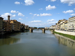 Ponte Vechio with nice weather