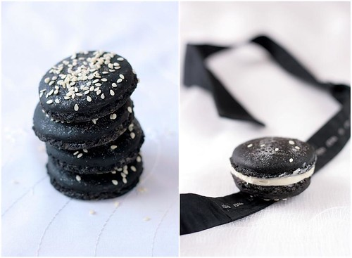 Tartelette: Black Tie Macarons And A Calendar Girl