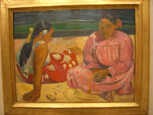 Chicas de Tahiití,Paul Gauguin
