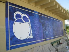 Obregon Park Pool installation 006 (Los Angeles County Arts Commission - Civic Art) Tags: park pool eugene obregon a