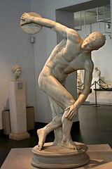Discus Thrower (pbr42) Tags: italy rome art sport statue discusthrower