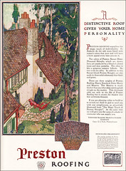 1925 Preston Roofing Ad