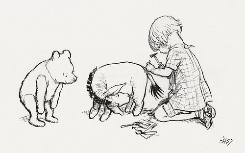When Christopher Robin Had Nailed It On Its Right Place