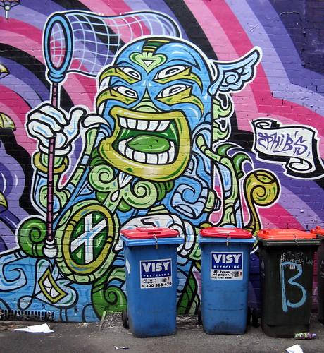 Chupa Chups Mural - Phibs