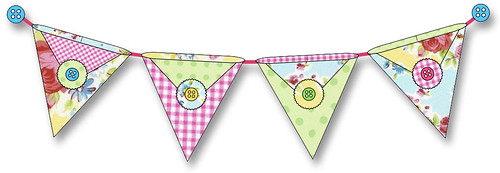 Pennie Pockets - Little pennant pockets of happiness