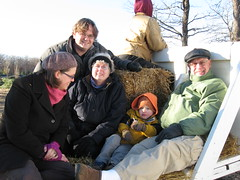 Hay Ride at the Tree Farm