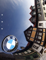 The new German old quarter (Nordhausen, 12.2008) ( N.H.D) Tags: germany deutschland bmw oldquarter