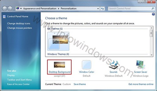 How To Use Windows 7 Desktop Slide Show Feature