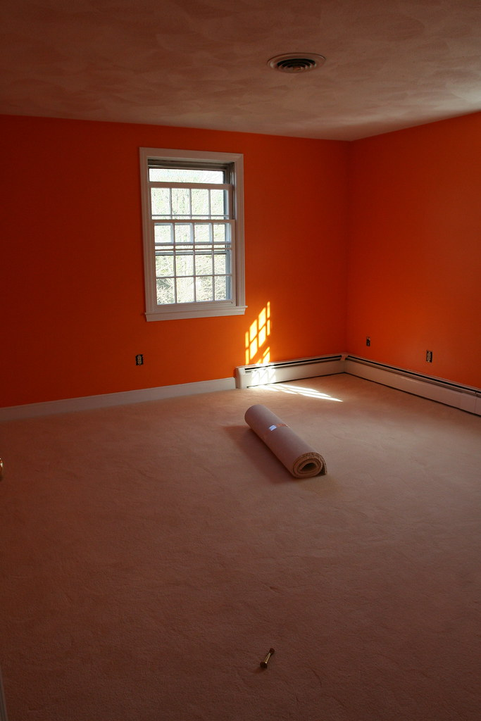 Boys' quiet play room (a.k.a. the ORANGE room)